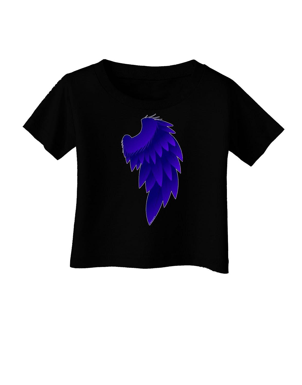 TooLoud Single Right Dark Angel Wing Design Couples Infant T-Shirt Dark