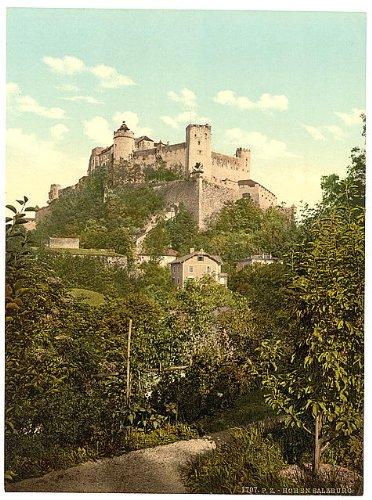 HistoricalFindings Photo: Hohensalzburg Castle,Salzburg,Austria,1890s