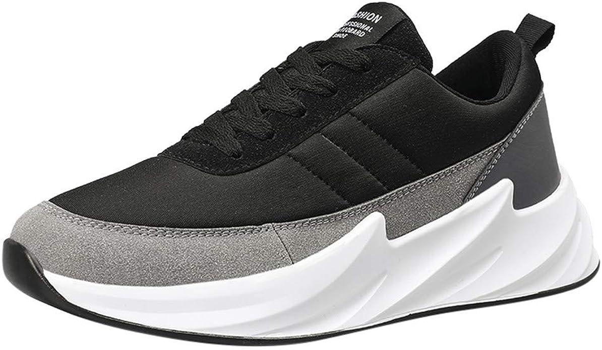 LANSKIRT Zapatillas de Deporte para Hombres Running Zapatos con ...