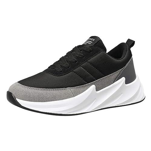 LHWY Zapatillas Mocasines de Deportes Zapatillas de Deporte con Cordones Casuales de Verano con Cordones para