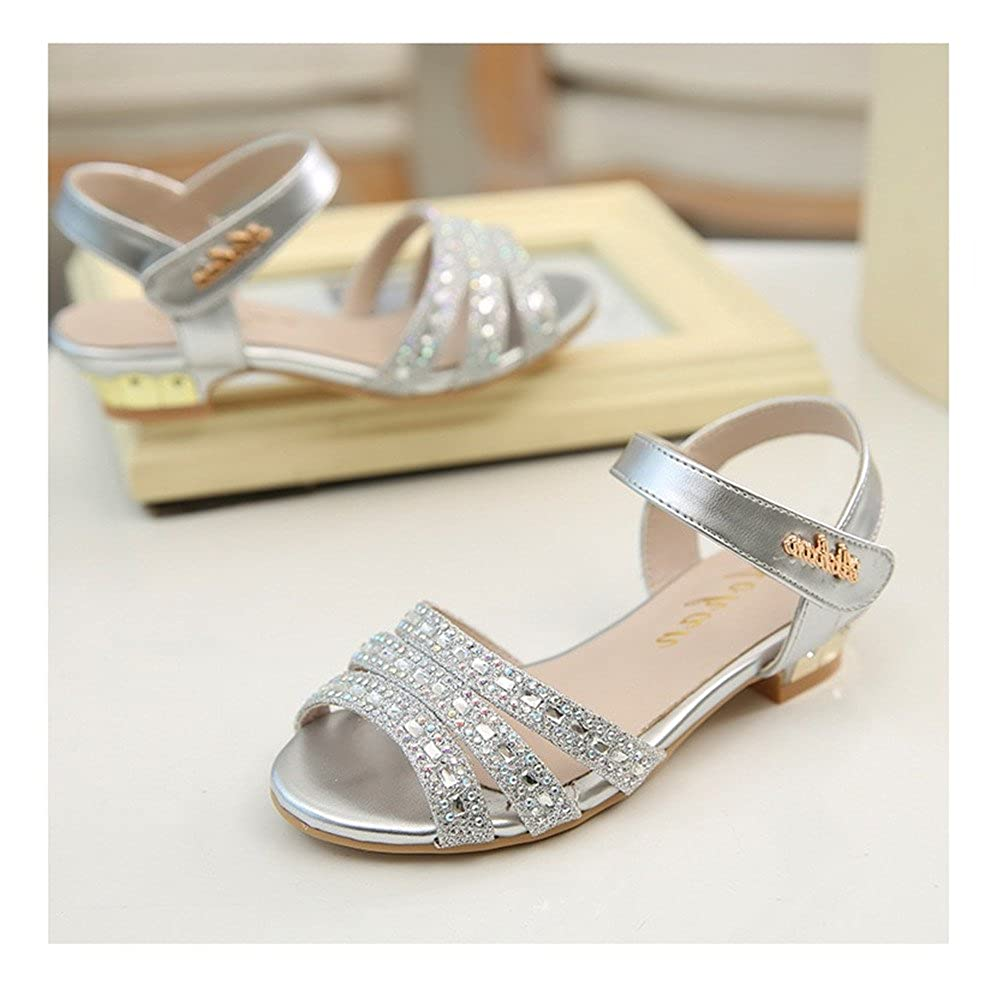 Always Pretty Little Girls Open Toe Pumps Toddler Girl Sandals Dress Shoes