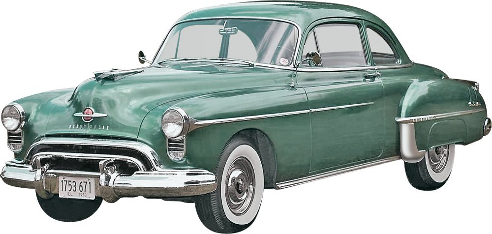 Revell 50 Olds Coupe 2 In 1 Plastic Model Kit Toys
