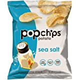 Popchips Potato Chips, Sea Salt, 0.8 Ounce (Pack of 24)