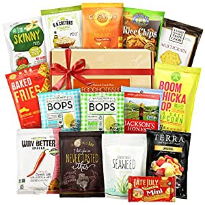 Nut Free Snacks Healthy Gift Box Premium Care Package Veriety Bundle 15 ct