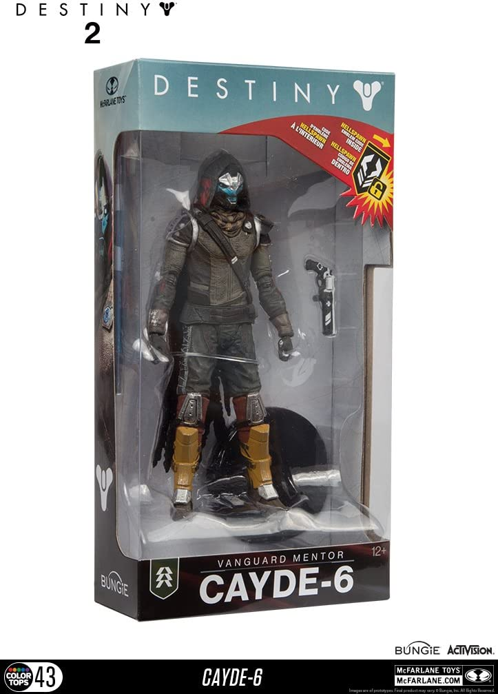 McFarlane Toys 13040-9 Destiny 2 Cayde 6 Collectible Action Figure