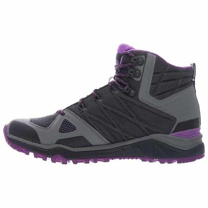 La Face Nord W Ultra Fastpack Ii Mid Gtx, Zapatillas De Senderismo Para Mujer, Gris (gris Zinc / Violette), 41 Eu