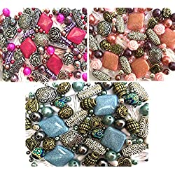 A beautiful Selection of Mixed Jewelry Making Beads