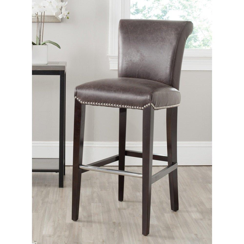 Wondrous Safavieh Mercer Collection Seth Antique Brown 25 9 Inch Bar Stool Lamtechconsult Wood Chair Design Ideas Lamtechconsultcom