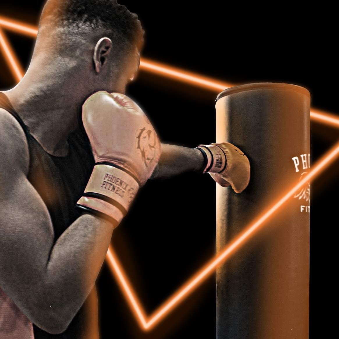 Heavy Bag MMA Dummy Punching Bag Equipment For Kickboxing Martial Arts and General Health and Fitness Exercise Phoenix Fitness Boxing Punch Bag Stand Free Standing Pedestal 5.9ft Punchbag
