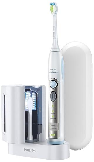 Philips HX6971/33 - Cepillo de dientes eléctrico, 31.000 movimientos/minuto, higienizador