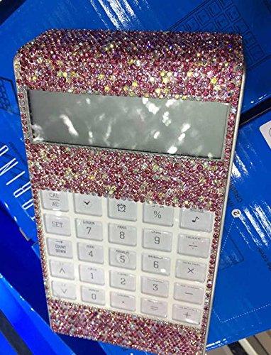 TISHAA Bling Bling Gorgeous Crystal Calculator (Full Pink Bling)
