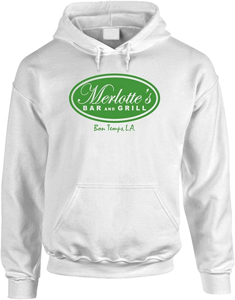 tv Show Series Merlottes BAR and Grill Mens Pullover Hoodie