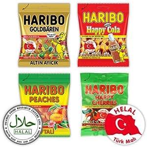 Haribo Helal / Halal,Gominolas de Fruta, 380 g