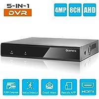 Q-camera 8CH 4MP Híbrido AHD/TVI/CVI/Analógico/Onvif IP DVR H.264