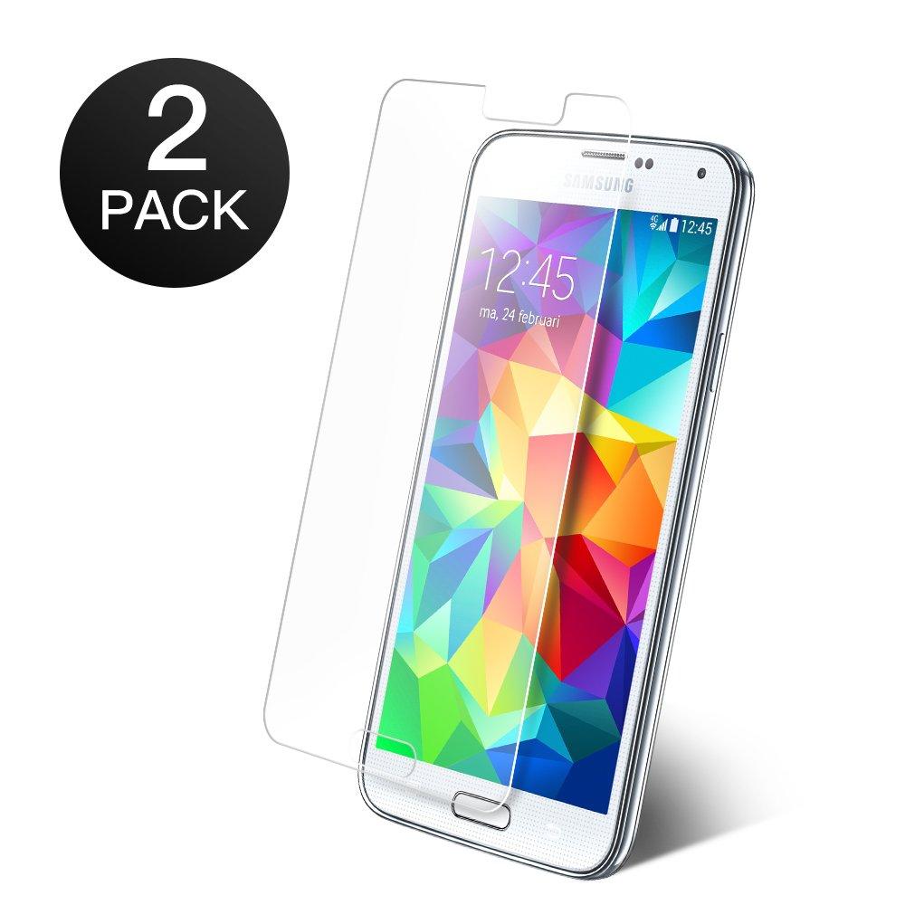 2 Stuck Samsung Galaxy S5 PanzerglasCoolreall Schutzfolie Fur 033 Mm HD Ultra Transparent9H Hartegrad Amazonde Elektronik
