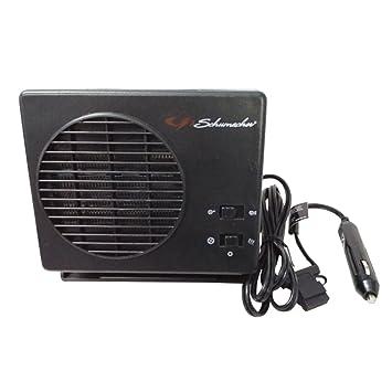 Calefactor portátil para vehículo Winomo, 12 V, para limpiaparabrisas, anti escarcha, con conector para mechero del coche (color negro): Amazon.es: Coche y ...