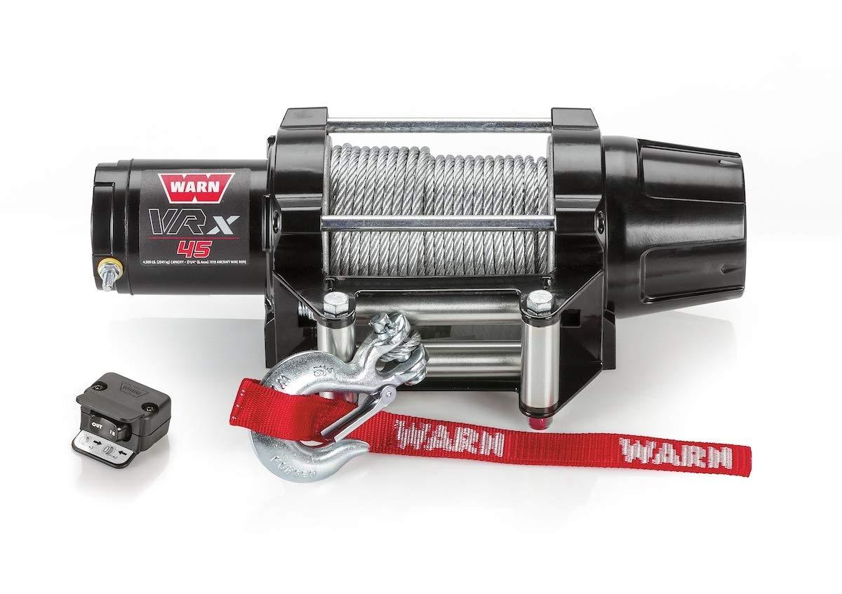 Warn Winch 4500 VRX 45 Kit [Includes Heavy Duty Winch Saver]