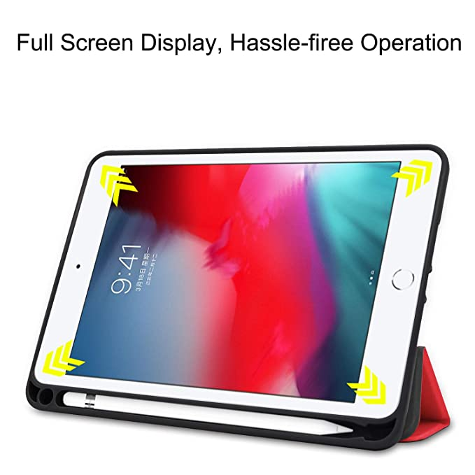 Bookstyle Colorful Series PU Leather Flip Cover Case Bag with Stand Auto Sleep//Wake Protective Cover KM-WEN/® Tablet Case for  Fire HD 10 10.1 Inch Gold Butterfly 09