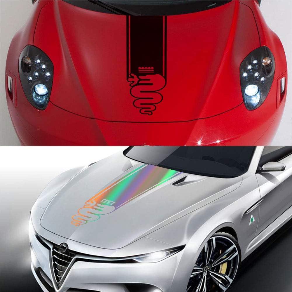 for Alfa Romeo Giulia Giulietta 159 156 Mito Stelvio 147 Sportiva GT HLLebw Auto Adesivi Decorativi per Gonna Adesivi
