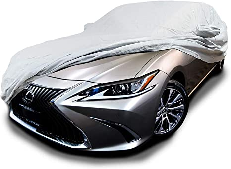 Fleeced Satin Covercraft Custom Fit Car Cover for Select Lexus ES300 Models Black FS13204F5