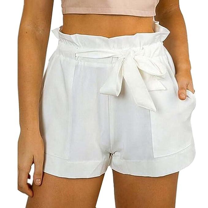 Moda Alta De Del Casual Diseño Cintura Pantalones Mujer Minetom OZPiuXk