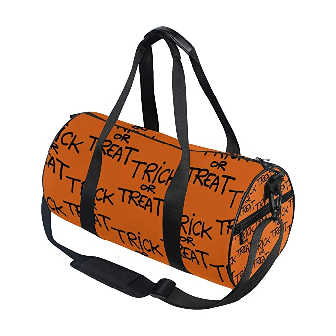 Amazon.com: DEZIRO Hallowmas Trick Or Treat sport duffle bag ...