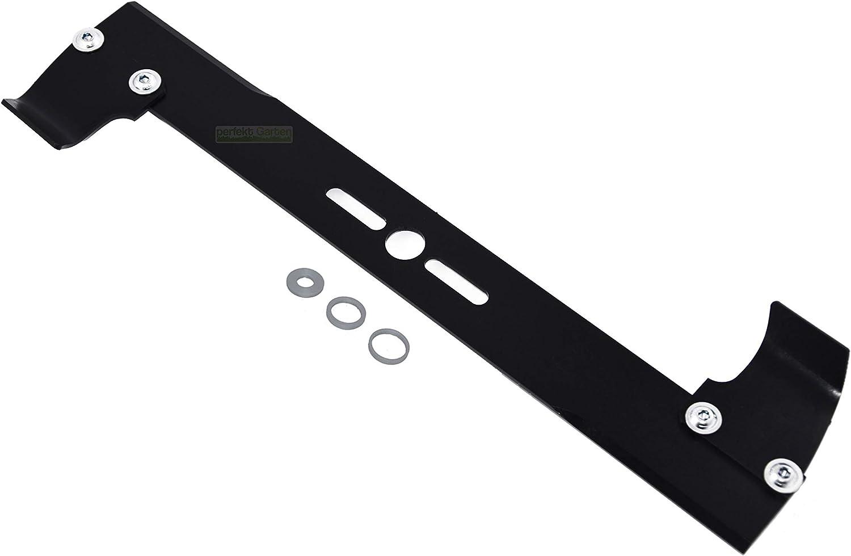 '40cm (16) universal cuchilla de repuesto para cortacésped con hierba Saco/página Expulsión–Alta alas