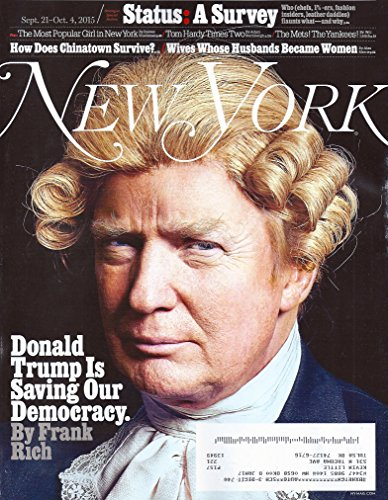 Donald Trump l Lilli Hymowitz l Tom Hardy l How Does Chinatown Survive? l Wives Whose Husbands Became Women - New York