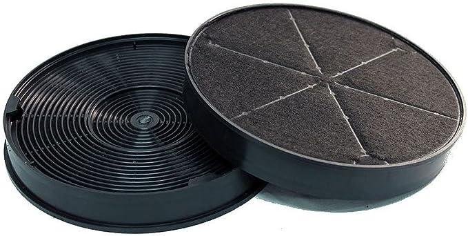 Filtro de carbón activo, apto para Franke 112.0016.755 / 1120016755 / 112.0157.240 / 1120157240 / 112.0169.114 / 1120169114 / 6093049. 60930. 21 – 1 par de filtros de carbón.: Amazon.es: Grandes electrodomésticos