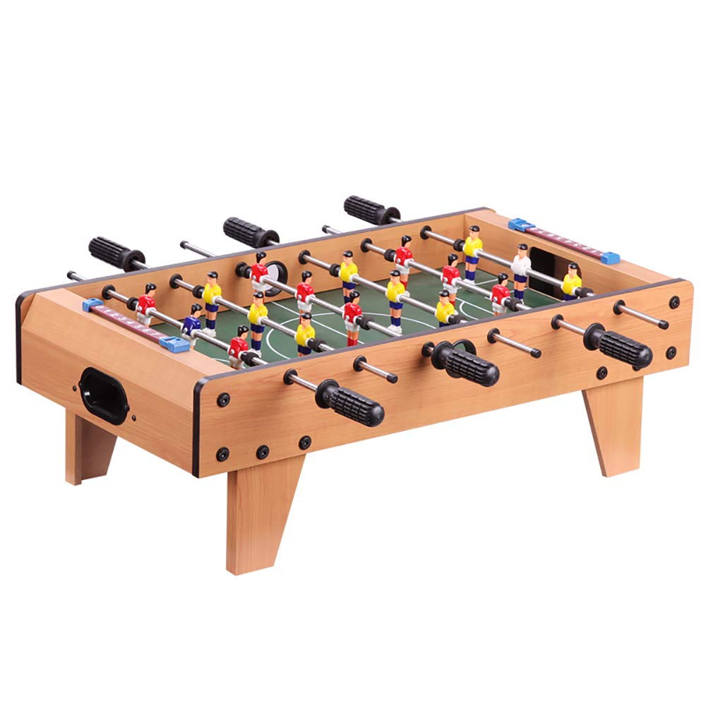 DWhui Tabletop Foosball Table- Portable Mini Table Football Soccer Game Set with Two Balls and Score Keeper for Adults and Kids by