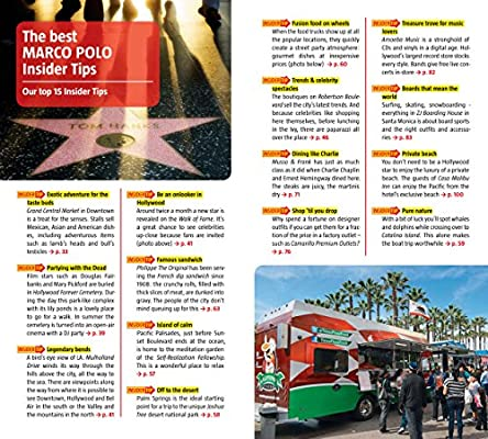 Los Angeles Marco Polo Pocket Guide Marco Polo Guides Idioma ...