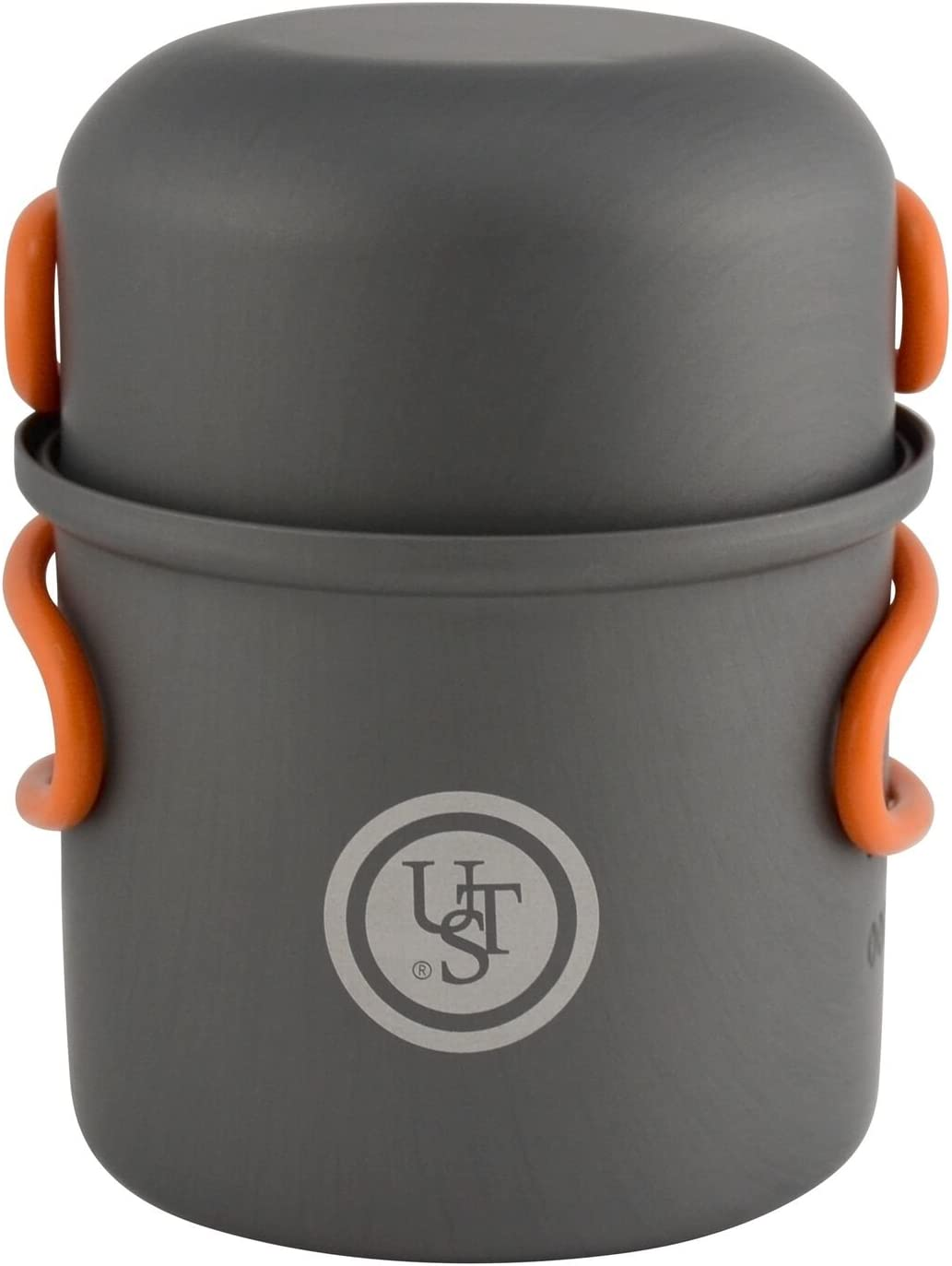 UST Solo Cook Kit with Lightweight, Compact, BPA Free, Anodized Aluminum Construction for Camping, Hiking, Emergency, Soloist and Picnics