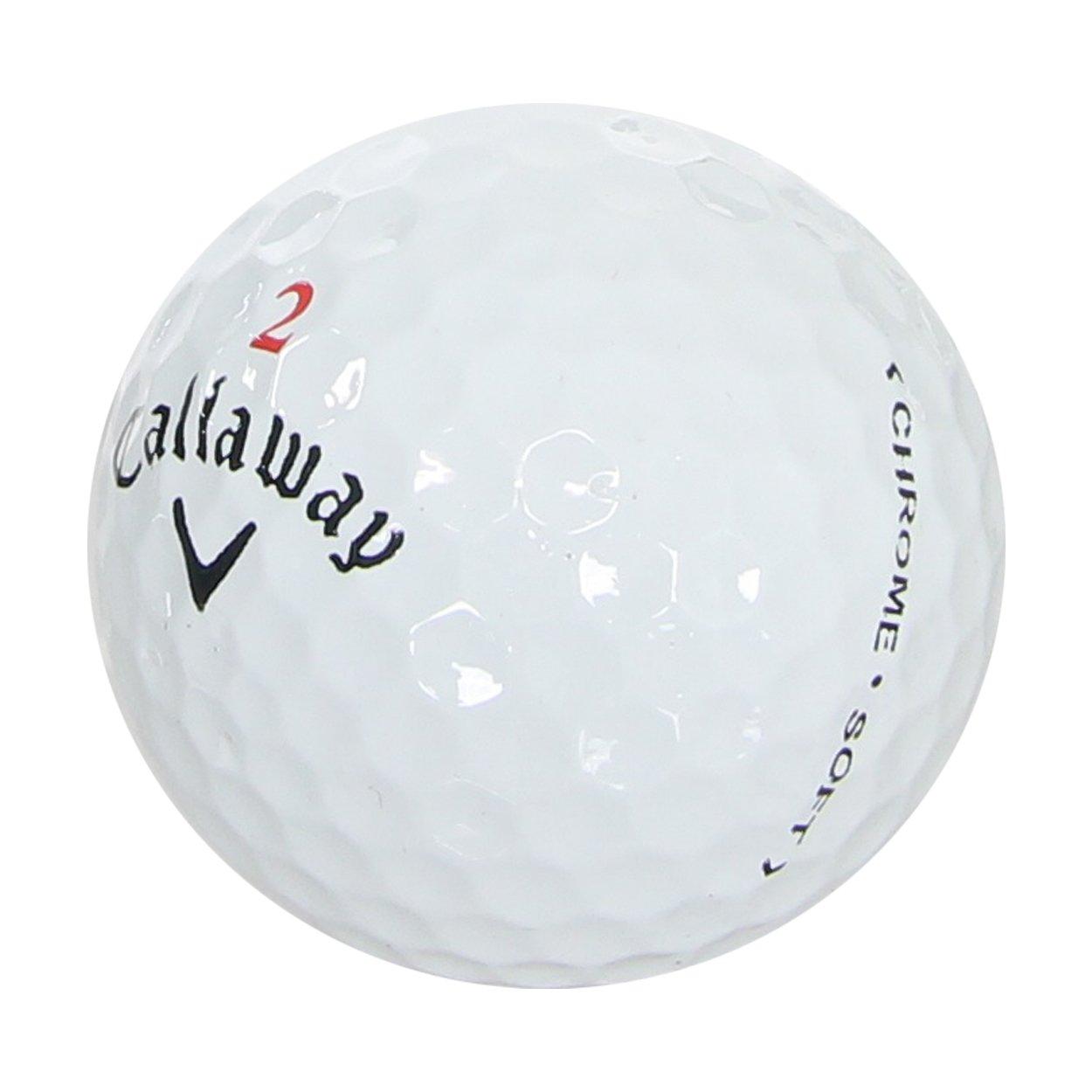 Callaway Chrome Soft Golf Balls 3-Dozen (36), Refinished/Mint Condition