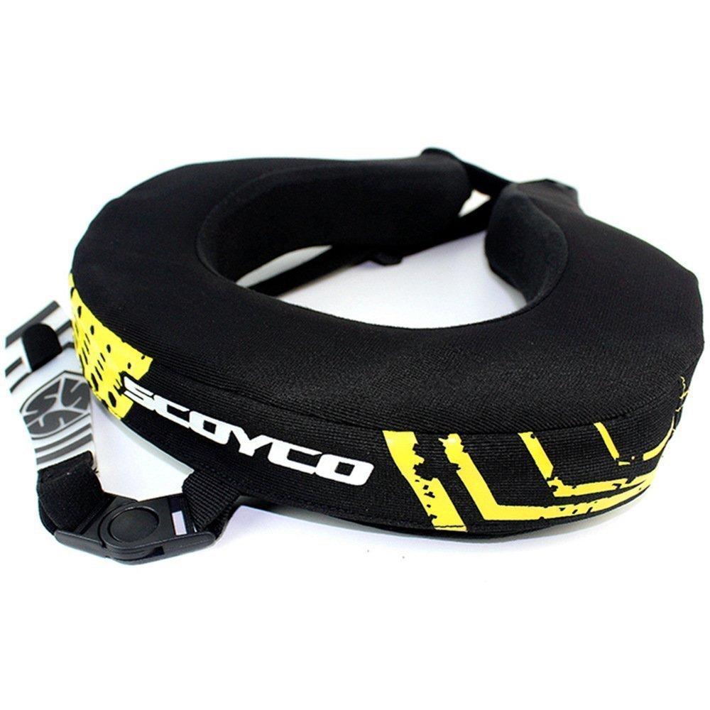 Scoyco N02B Flame-Retardant Windproof Motorcycle Neck Protector MX ATV Neck Brace Racing Protective Race Collar Body Armor