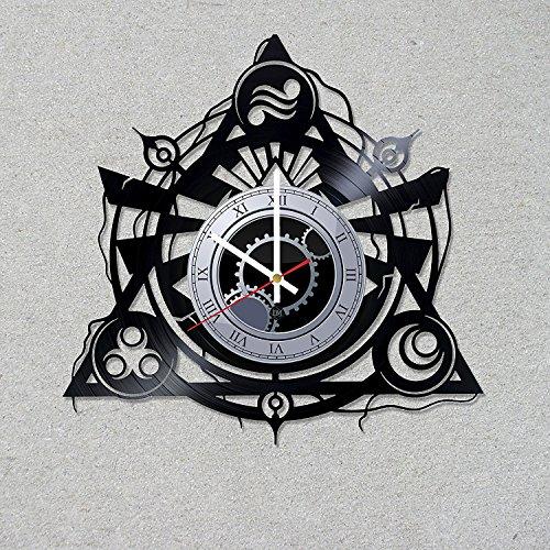 Vinyl Record Wall Clock Legend of Zelda Link game decor unique gift ideas for friends him her boys girls World Art Design