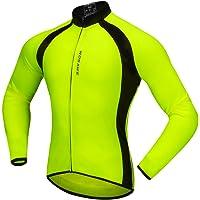 Baosity Quick Dry Cycling Jersey Long Sleeve Sports Bike Jacket Winter Bicycle Shirt