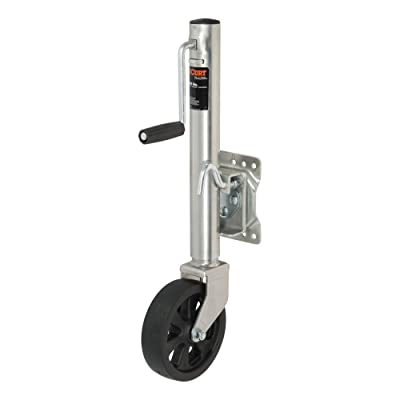 CURT 28115 Marine Boat Trailer Jack with 8-Inch Wheel, 1,500 lbs., 11 Inches Vertical Travel: Automotive