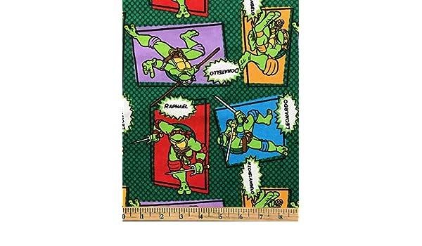 Parche con diseño de tortugas Ninja, 1 yarda - Tela de ...