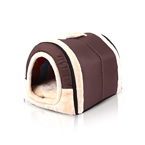 PETCUTE Casa Cama para Perros Casa para Mascotas Caseta para ...
