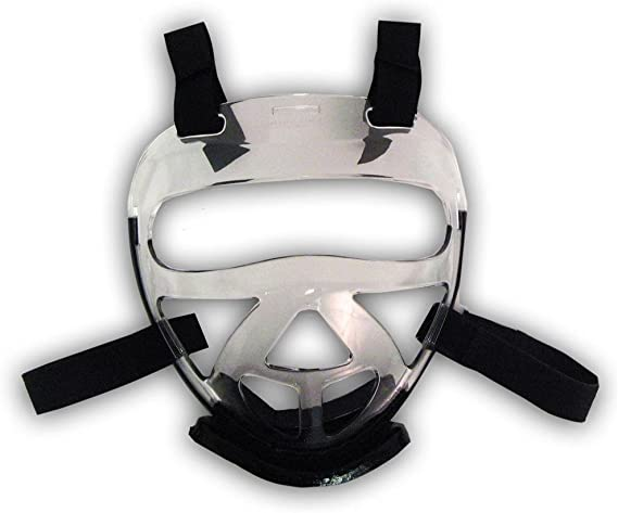 Macho Dyna Head red x-Large and Clear Face Shield