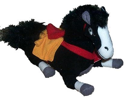 amazon com disney mulan khan horse 8 doll toys games