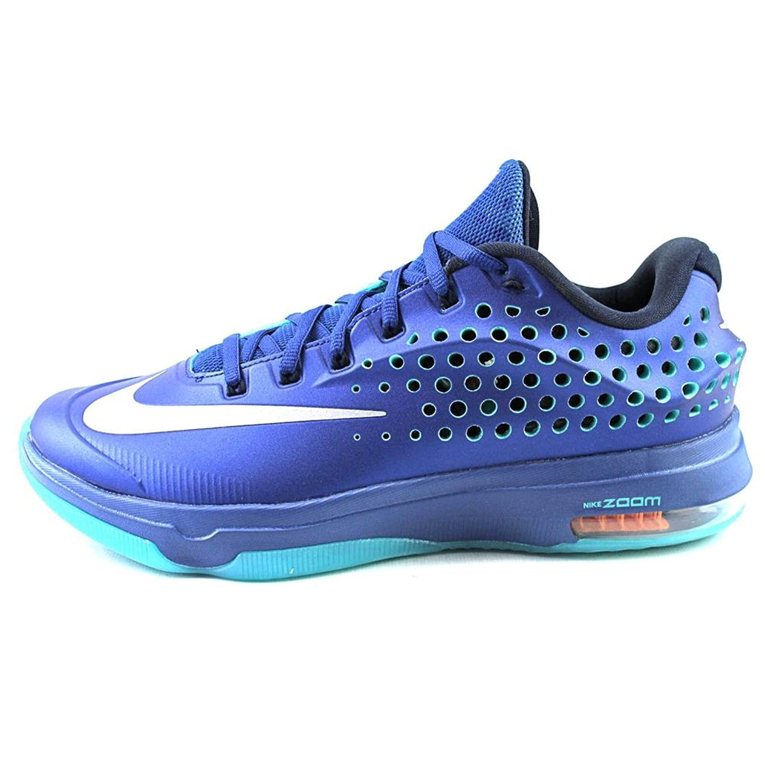 Amazon.com | Nike Mens KD VII Elite Basketball Shoes Gym Blue/LT Retro/Met  Silver 724349-404 Size 11.5 | Basketball