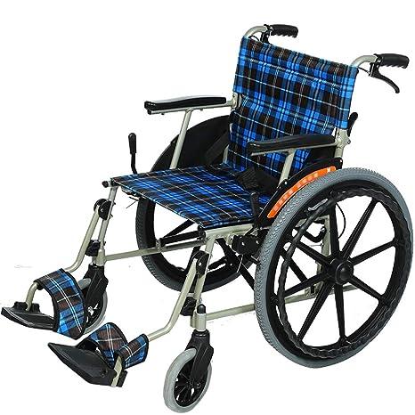 Amazon.com: EMOGA silla de ruedas de transporte con marco de ...