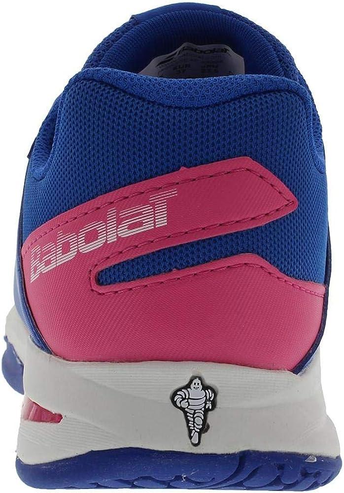 Princess Blue//Fandango Pink 2.5 US Little Kid Babolat Kids Propulse Fury All Court Junior Tennis Shoes