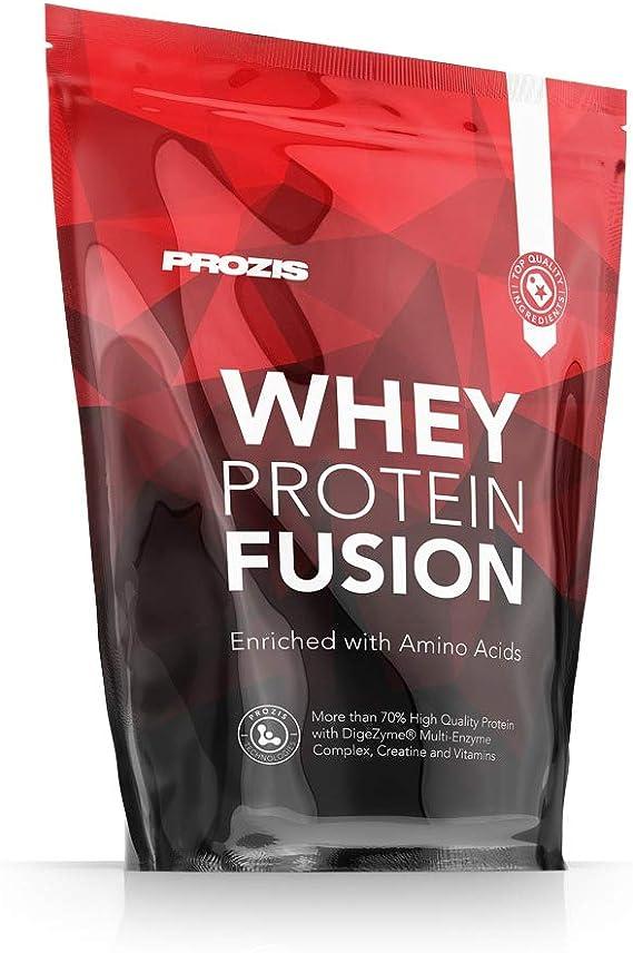Prozis Whey Protein Fusion, Sabor Chocolate - 900 gr