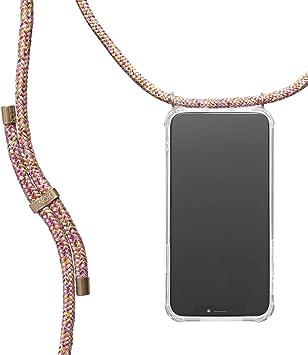 Hecho a Mano en Berlin con Cordon para Llevar en el Cuello Carcasa de m/óvil iPhone Samsung Huawei con Correa Colgante KNOK case Funda Colgante movil con Cuerda para Colgar iPhone X