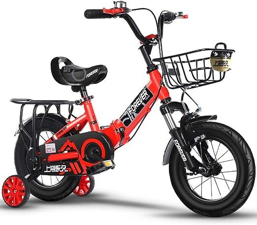 Bicicletas Niños Cochecito para Niños Y Niñas De 2 A 10 Años De ...