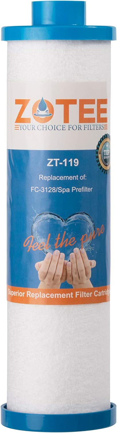 ZOTEE Filbur FC-3128 Spa Filter Disposable Hot Tub Filter with Garden Hose Adapter,Replacement for Pleatco PPS2100,1 Pack