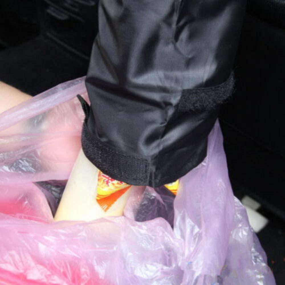 YUHUALI Seggiolino Auto Schienale portarifiuti Sacco portarifiuti Contenitore per immondizia Contenitore per rifiuti Bidoni della Spazzatura per Auto Strumenti di Pulizia