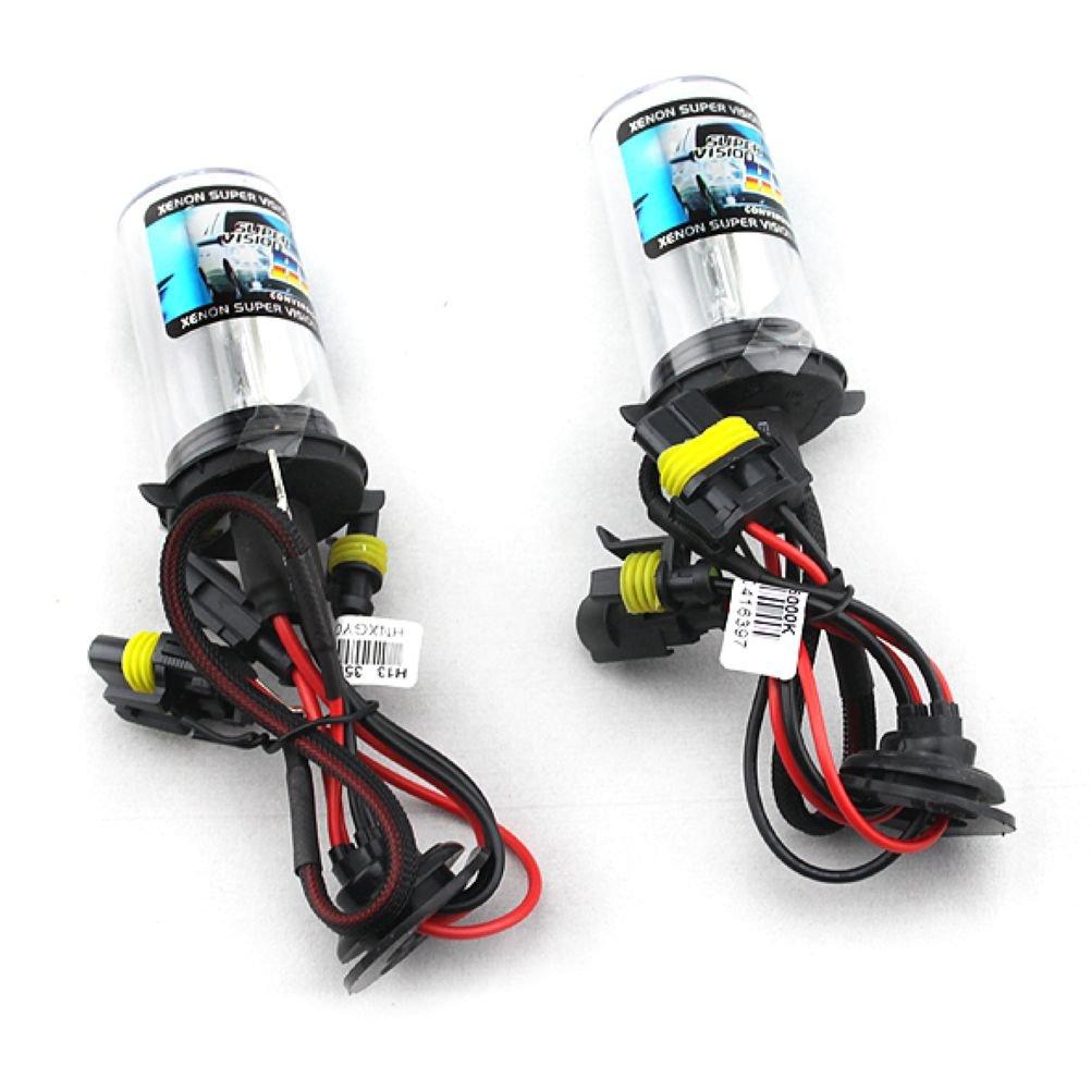 Car HID Xenon Single Beam Lights Bulbs Lamps H13 9008 10000K brilliant blue(12V,35W) - 1 Pair
